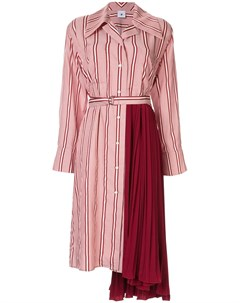 Платье с плиссировкой Maison mihara yasuhiro