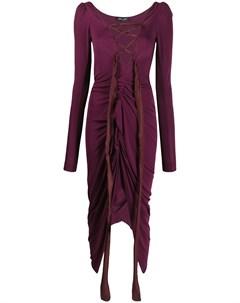 Платье со шнуровкой Andreas kronthaler for vivienne westwood