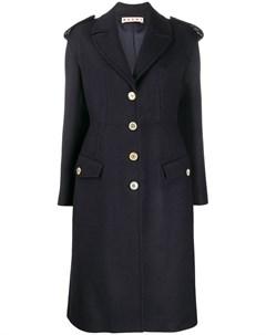 приталенное пальто на пуговицах Marni