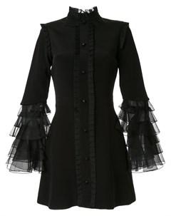Платье Sincerity с оборками на рукавах Macgraw