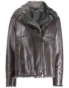 Куртка из овчины на молнии Manzoni 24