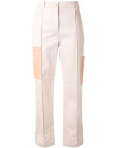 Прямые брюки с контрастными карманами Nehera