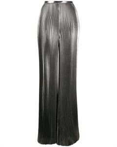 Широкие брюки со складками Alberta ferretti