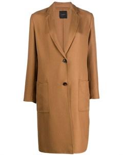 Приталенное пальто Agnona