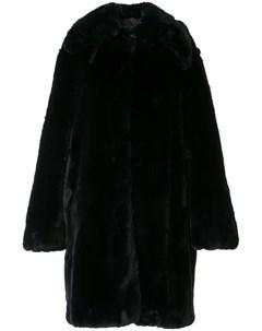 Фактурное пальто оверсайз Rokh
