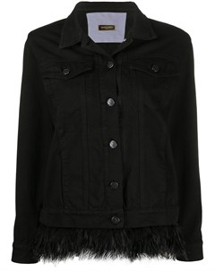 Джинсовая куртка с перьями Simonetta ravizza