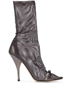 Ботильоны носки с перфорацией Marco de vincenzo