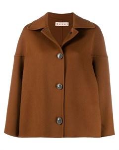 пальто с приспущенными плечами Marni