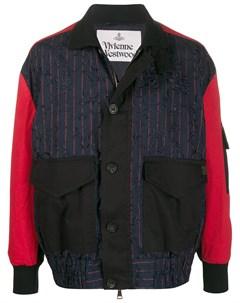 Куртка с контрастными рукавами Vivienne westwood