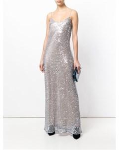 Платье Estrella на лямках спагетти Galvan