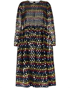 Платье миди с пайетками Ashish
