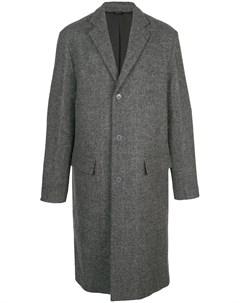 Однобортное пальто Oamc