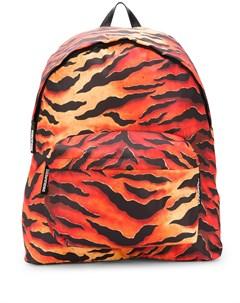 объемный рюкзак с тигровым принтом Dsquared2