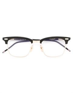 очки с квадратной оправой Thom browne eyewear