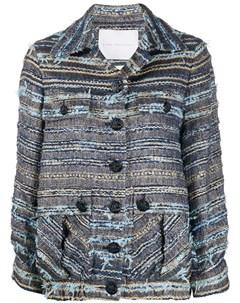 Твидовая куртка с карманами Giada benincasa