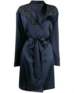 короткий халат с вышивкой I.d.sarrieri