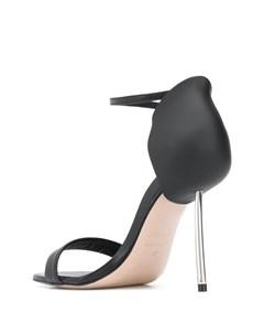 Босоножки на металлическом каблуке Le silla