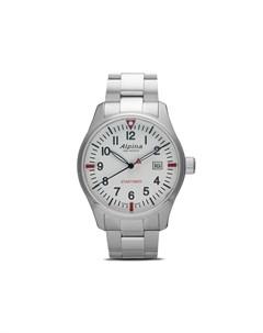 Наручные часы Startimer Pilot Quartz GMT 42 мм Alpina