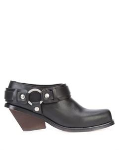 Ботинки на толстом каблуке Wanda nylon