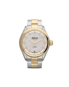 Наручные часы Comtesse 34 мм с позолотой и перламутром Alpina