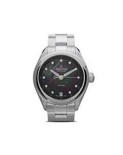 Наручные часы Comtesse 34 мм с перламутром Alpina