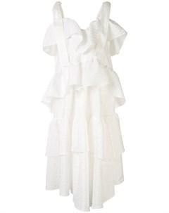 Ярусное платье асимметричного кроя Goen.j
