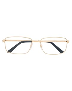 очки Santos в прямоугольной оправе Cartier eyewear