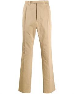 строгие брюки прямого кроя Prada