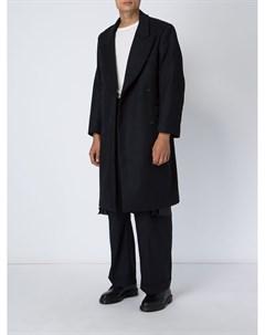 Двубортное пальто Hed mayner