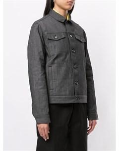 Джинсовая куртка с принтом Undercover