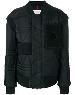 Свободное дутое пальто Moncler c