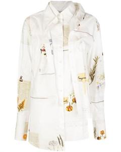 Деконструированная многослойная рубашка Monse