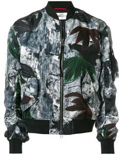 Куртка бомбер с цветочным узором Oamc