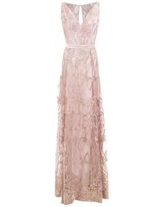 Длинное фактурное платье Tufi duek