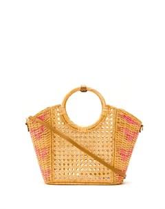 Плетеная сумка тоут Serpui