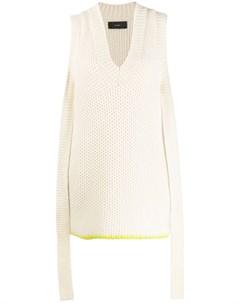 Кашемировое платье Bright Touch Alanui