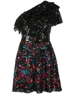 Платье мини с пайетками Zuhair murad