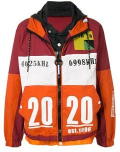 Куртка в стиле колор блок на молнии Maison mihara yasuhiro