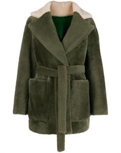 Двусторонняя куртка оверсайз Blancha