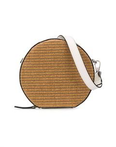 плетеная сумка на плечо Brunello cucinelli kids