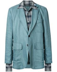 Пиджак свободного кроя Maison mihara yasuhiro