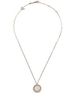 Колье Happy Diamonds Icons из розового золота с бриллиантами Chopard