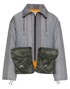 Укороченный пуховик с двумя карманами A-cold-wall*