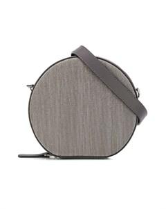 сумка на плечо с эффектом металлик Brunello cucinelli kids