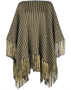 трикотажное платье пончо Saint laurent