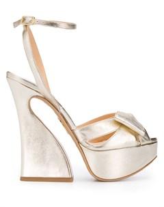 Босоножки на массивном каблуке Charlotte olympia
