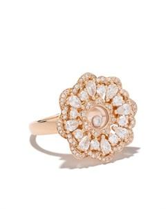 Кольцо Happy Precious из розового золота с бриллиантами Chopard