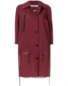 Пальто оверсайз длины миди Yang li