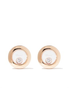Серьги Happy Diamonds Icons из розового золота с бриллиантами Chopard