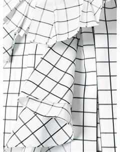 Блузка с оторочкой из воланов Monse